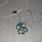 Frog I2C Test with external power supply